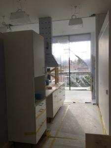 HSB Living LAB - Uppbyggnad av kök